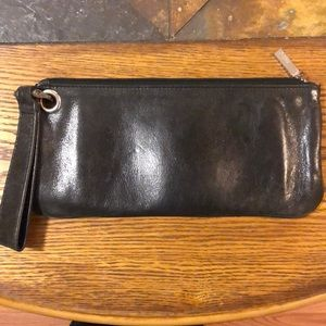 Hobo clutch wristlet wallet